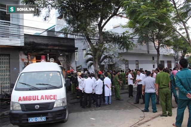 Vụ cháy 3 phụ nữ tử vong ở Đà Nẵng: Ba chỉ kịp cứu em trai con. Tha lỗi cho ba - Ảnh 1.