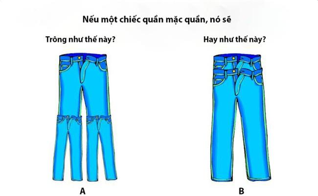 Cả thế giới lại điên đầu vì một câu hỏi tưởng như đơn giản: Một chiếc quần mặc quần sẽ như thế nào? - Ảnh 1.