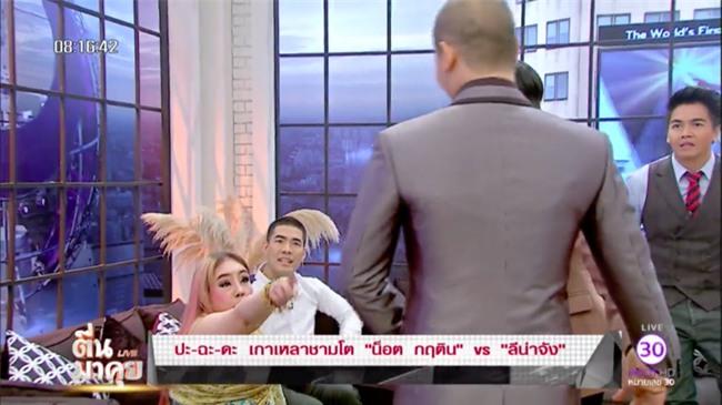 Nữ đại gia Thái Lan bị chồng thứ 9 tung tin đồn mắc bệnh AIDS, suýt đánh chồng cũ trên sóng truyền hình - Ảnh 4.