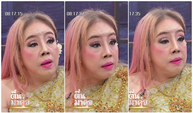 Nữ đại gia Thái Lan bị chồng thứ 9 tung tin đồn mắc bệnh AIDS, suýt đánh chồng cũ trên sóng truyền hình - Ảnh 6.