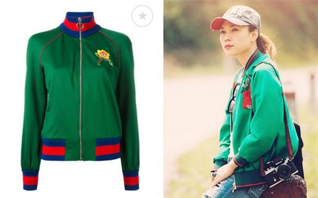 Mỹ Tâm mặc áo khoác giống... đồ fake của Gucci - Ảnh 5.