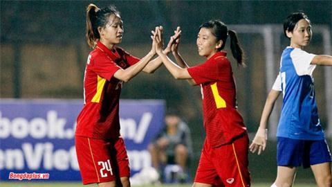 ĐT nữ Việt Nam 8-0 ĐT nữ Singapore: 8 thay đổi và chiến thắng 8 sao