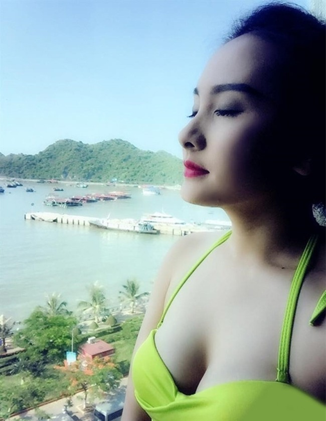 "nhan sac xinh nhu mong cua nguoi dep ""song chung voi me chong"" hinh anh 5"