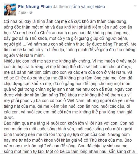 Hơn 20 năm giấu kín, Phi Nhung bất ngờ công khai con gái ruột? - Ảnh 1.