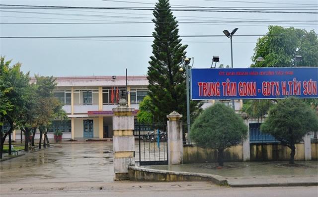 Trung tâm GDNN-GDTX huyện Tây Sơn, tỉnh Bình Định