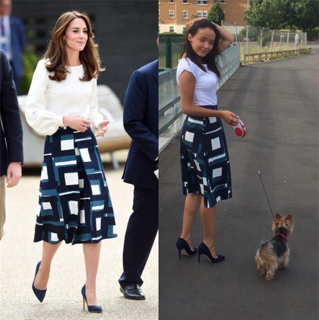 Một tín đồ mê phong cách của Kate đến nỗi sao chép gần như toàn bộ những bộ cánh mà công nương từng mặc - Ảnh 10.