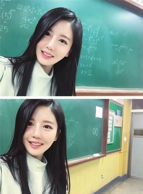 Cô giáo dạy Toán bị nhầm là diễn viên vì quá xinh đẹp - 3