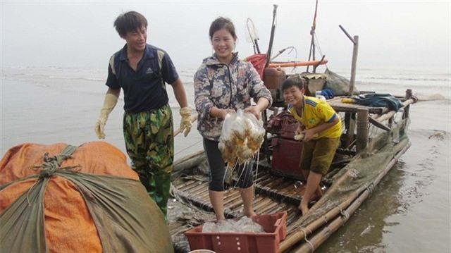 ngư dân, xứ Nghệ, hải sản, đặc sản