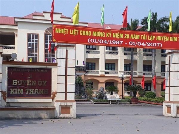 Hải Dương, cả họ làm quan, người nhà làm quan, bổ nhiệm cán bộ, bổ nhiệm người nhà, huyện Kim Thành