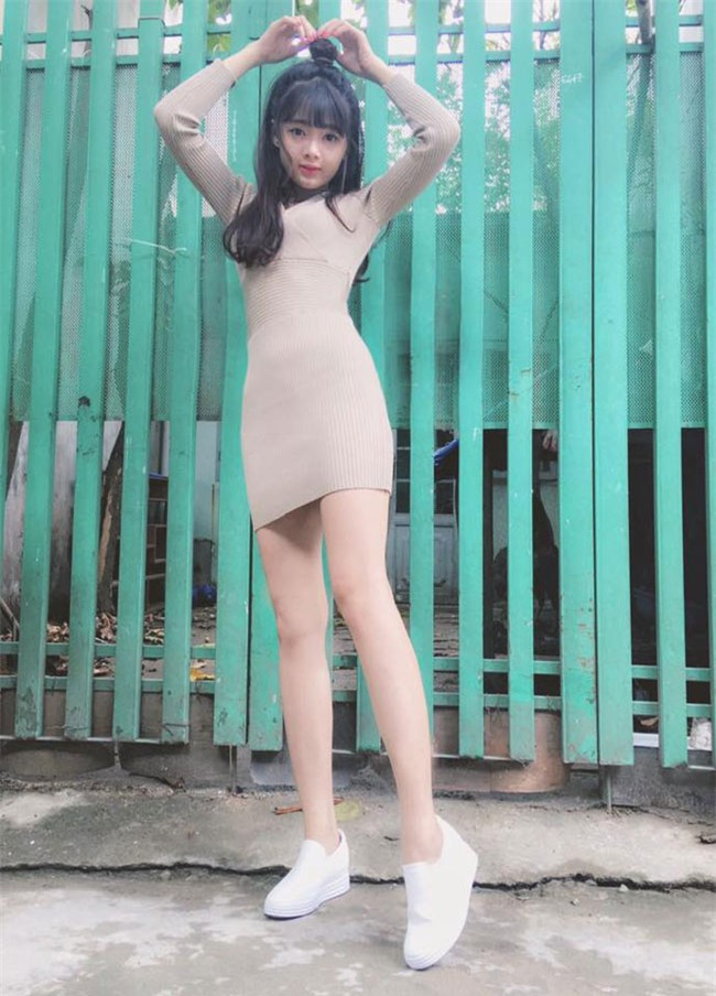 """hot girl anh the"" thay doi dien mao den ngo ngang hinh anh 10"