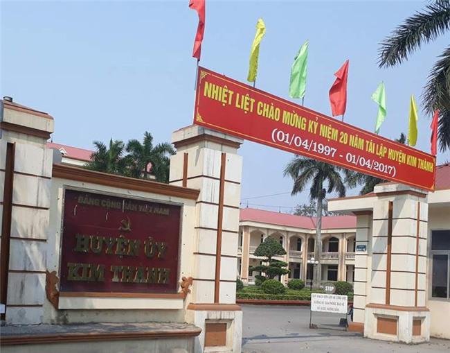 lãnh đạo huyện toàn người nhà, bổ nhiệm người nhà, huyện Kim Thành, Hải Dương