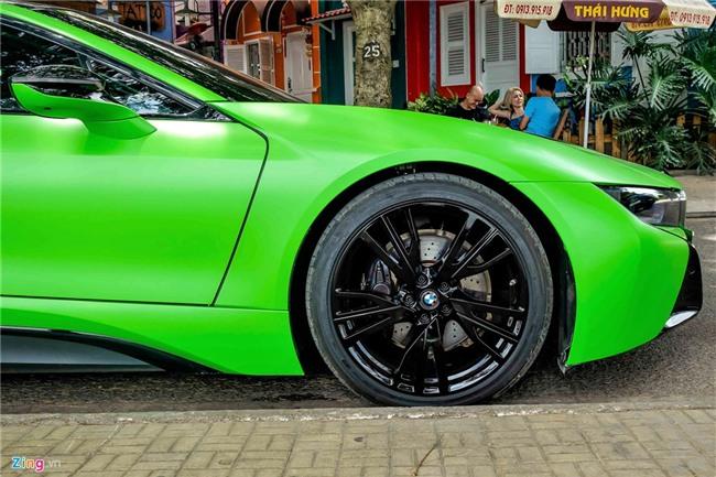 BMW i8 mau xanh xuat hien o Sai Gon hinh anh 5