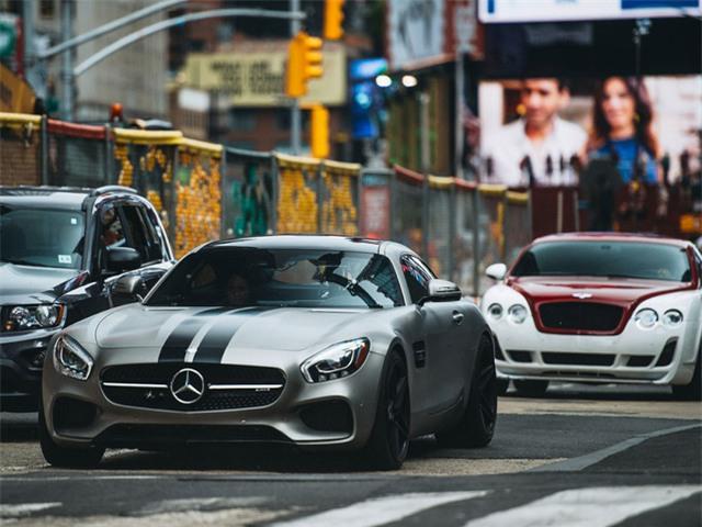 Chiếc Mercedes của Ludacris