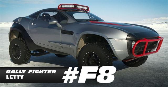 Chiếc xe địa hình Rally Fighter do vai nữ chính Letty Ortiz điều khiển.