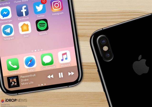 Cuối cùng iPhone 8 đã hiện nguyên hình, bạn sẽ không tin nó đẹp mê mẩn thế này đâu - Ảnh 1.