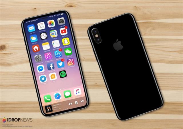 Cuối cùng iPhone 8 đã hiện nguyên hình, bạn sẽ không tin nó đẹp mê mẩn thế này đâu - Ảnh 2.