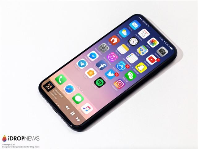 Cuối cùng iPhone 8 đã hiện nguyên hình, bạn sẽ không tin nó đẹp mê mẩn thế này đâu - Ảnh 6.