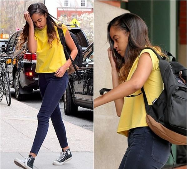 Con gái lớn của Cựu Tổng thống Obama bị kẻ xấu rình mò ở nơi thực tập - Ảnh 1.