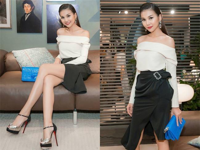 Cứ đến hè là sao Việt lại thích khoe trọn vai trần trong những thiết kế trễ vai mong manh - Ảnh 5.