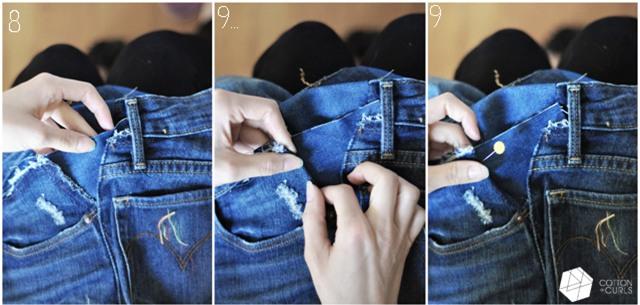 Quần jeans bị chật hay bai dão: chỉ cần vài ba thao tác đơn giản là lại vừa in - Ảnh 7.