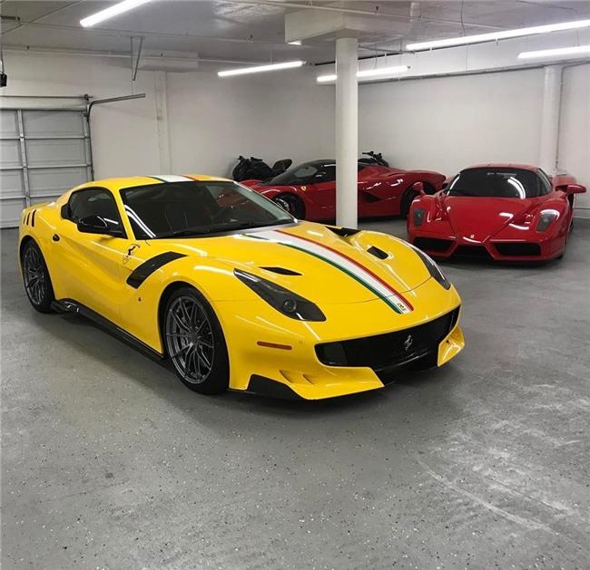 Ferrari F12tdf doc nhat cua nha suu tap Ferrari hinh anh 5