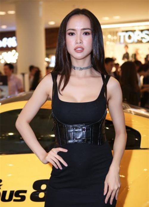 sao trang diem xau: a hau huyen my, hot girl mai tho mat bong nhoang dau - 4