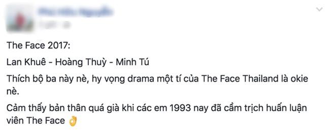 Dân mạng lại sôi sục về người chèn ép Minh Hằng sau khi dàn HLV The Face 2017 ra mắt! - Ảnh 6.