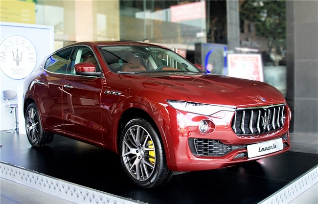 Maserati Levante ban dac biet trung bay o Sai Gon hinh anh 1