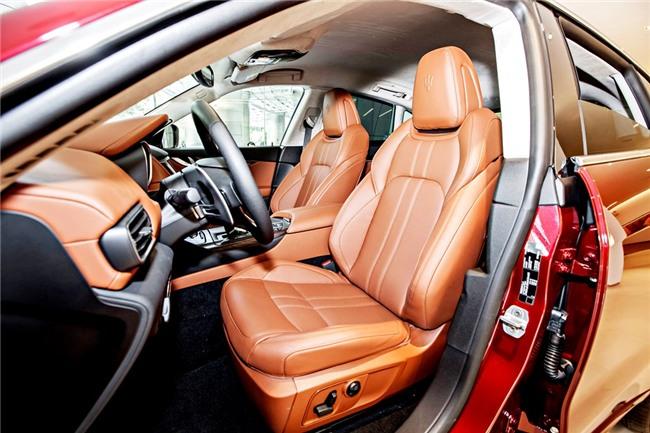 Maserati Levante ban dac biet trung bay o Sai Gon hinh anh 6