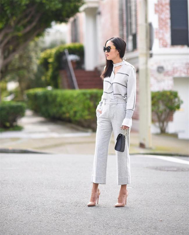 Street style quý cô châu Á: Diện đơn giản mà chất thế này thì nàng nào cũng muốn bắt chước theo - Ảnh 7.
