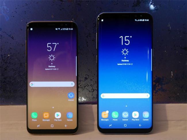 Galaxy S8, S8+ lap ky luc dat hang tai VN du chua co gia ban hinh anh 1