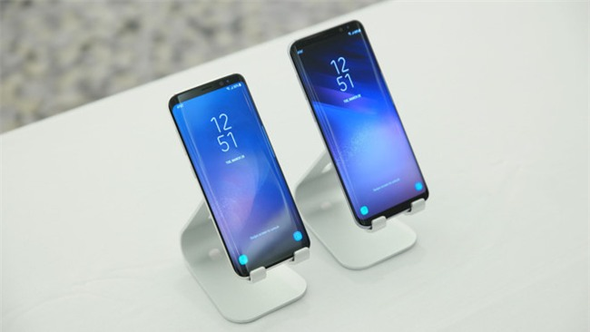 Galaxy S8, S8+ lap ky luc dat hang tai VN du chua co gia ban hinh anh 3