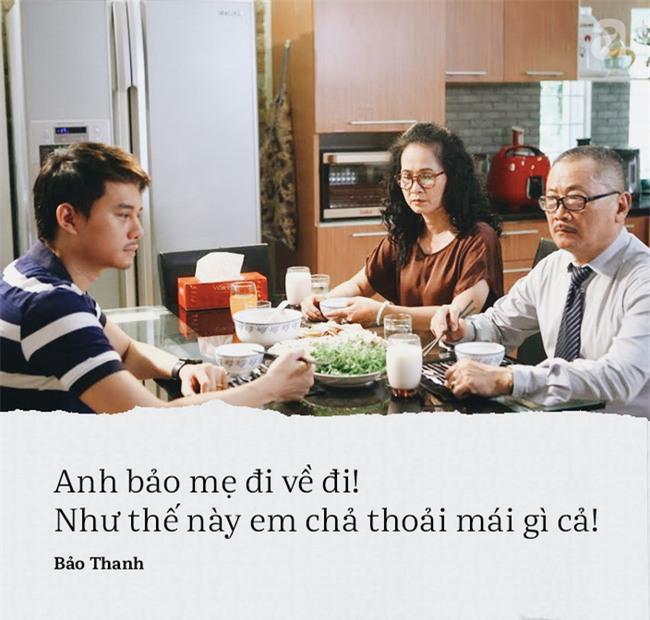 Vì những câu nói này mà Bảo Thanh trở thành nàng dâu bị ghét nhất màn ảnh nhỏ - Ảnh 2.