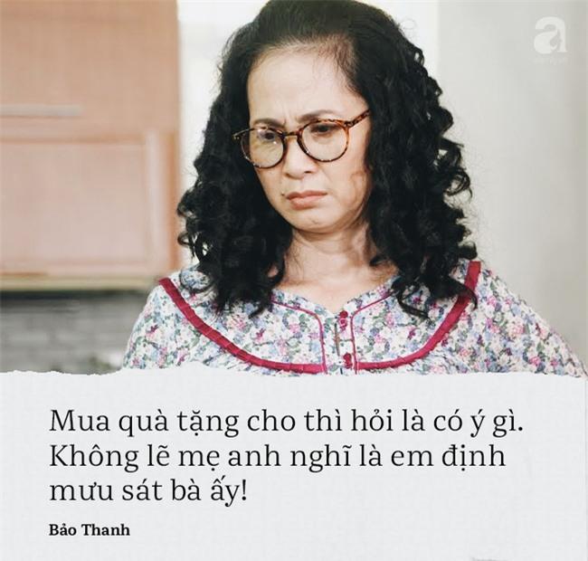 Vì những câu nói này mà Bảo Thanh trở thành nàng dâu bị ghét nhất màn ảnh nhỏ - Ảnh 4.