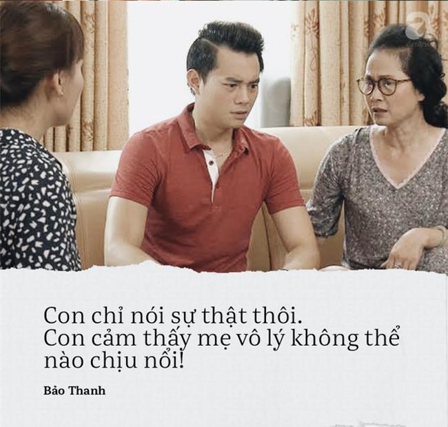 Vì những câu nói này mà Bảo Thanh trở thành nàng dâu bị ghét nhất màn ảnh nhỏ - Ảnh 8.