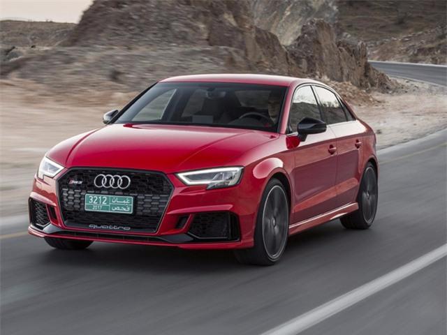Audi trình làng mẫu xe RS3 tính năng vận hành cao dành riêng cho thị trường Mỹ.