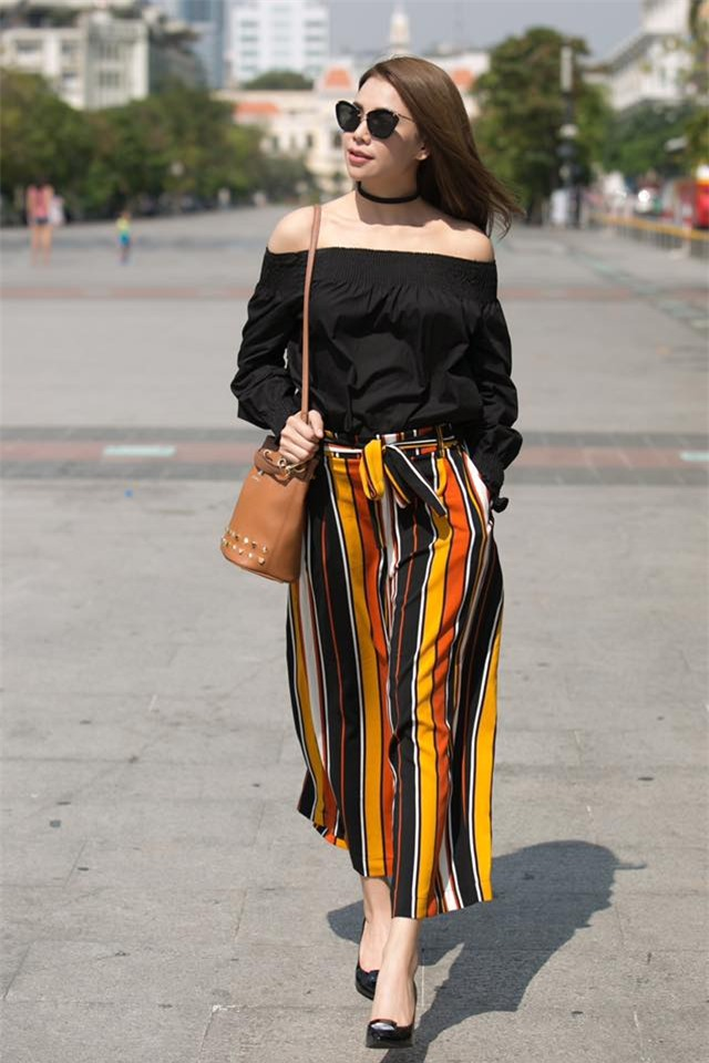 Angela Phương Trinh dìm chiều cao bằng quần loe quá khổ, Đỗ Mỹ Linh chững chạc với tóc uốn xoăn - Ảnh 17.