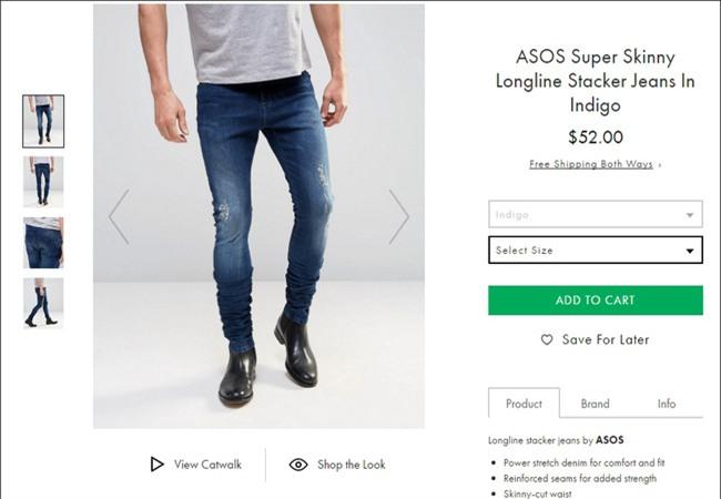 Các hãng thời trang liên tiếp tung ra những kiểu quần jeans lạ đời khiến dân tình mắt tròn mắt dẹt - Ảnh 10.