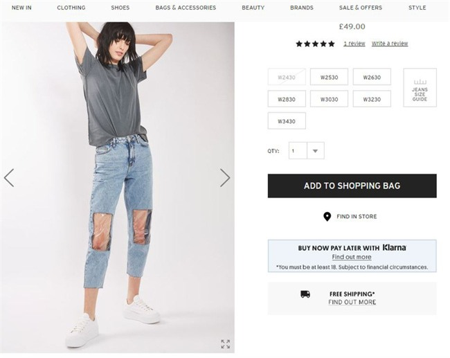 Các hãng thời trang liên tiếp tung ra những kiểu quần jeans lạ đời khiến dân tình mắt tròn mắt dẹt - Ảnh 3.