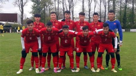 U20 Việt Nam thắng đậm Roda JC 4-0