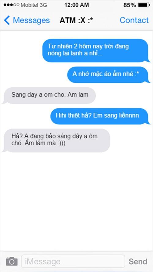 """""""cuoi bo"""" voi loat tin nhan khong dau khien nhung doi yeu nhau """"tan dan xe nghe"""" - 6"""