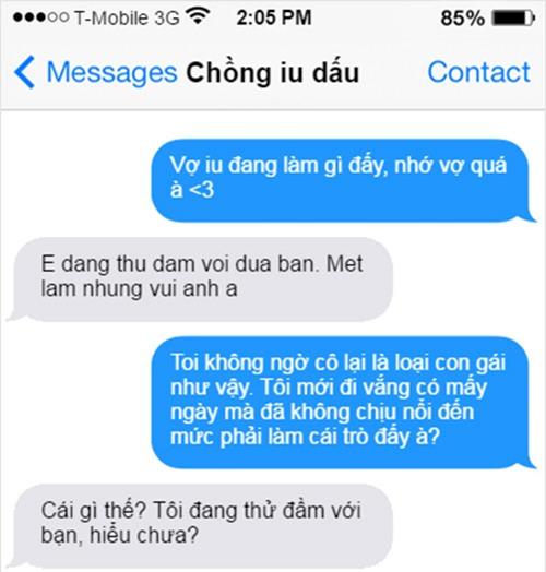 """""""cuoi bo"""" voi loat tin nhan khong dau khien nhung doi yeu nhau """"tan dan xe nghe"""" - 9"""