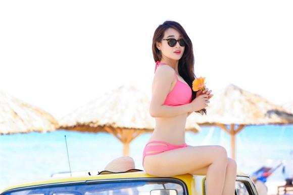 Diễn viên nhã phương,danh hài trường giang,nhã phương diện bikini