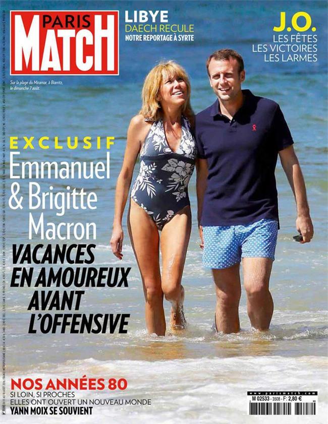Những bức ảnh tình tứ của vợ chồng ứng viên tổng thống Pháp - Ảnh 3.