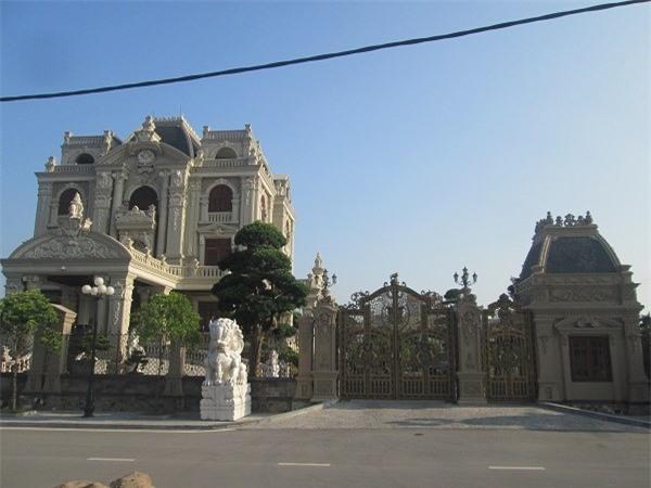 biệt thự, lâu đài, đại gia Việt,Mỹ, biệt thự triệu đô