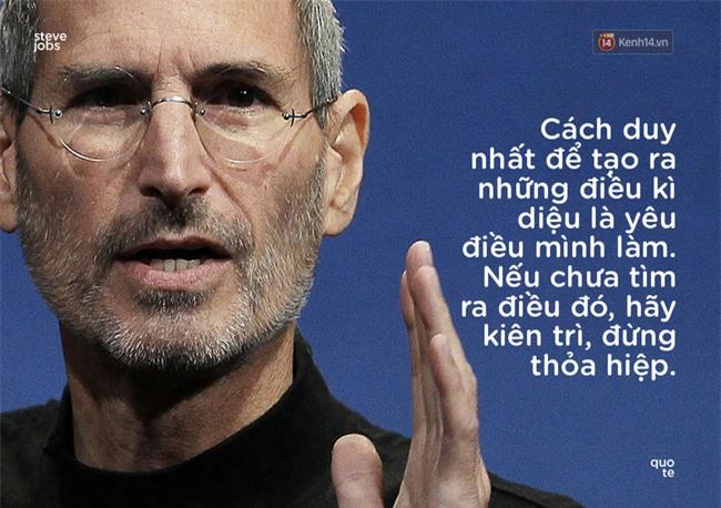 10 câu châm ngôn truyền cảm hứng của Steve Jobs khiến bạn muốn thay đổi bản thân ngay lập tức - Ảnh 7.