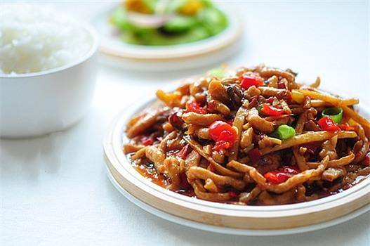 Thịt sốt măng nấm - món mặn ngon cơm - Ảnh 4.