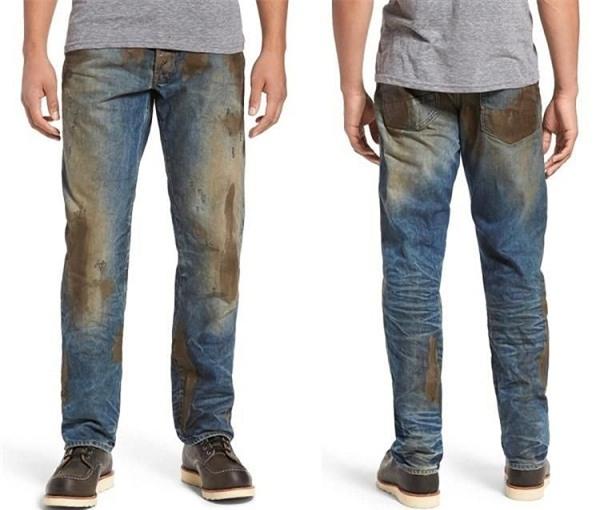 """quan jeans """"dinh bun"""" ban lem nhem co gia 10 trieu dong gay choang - 1"""