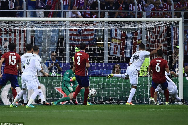 Real Madrid đã đánh bại Atletico ở hai trận chung kết Champions League 2014 và 2016