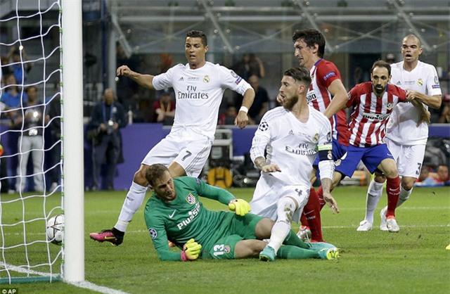 Ramos luôn có duyên ghi bàn vào lưới Atletico ở đấu trường Champions League